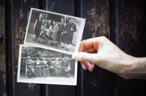 Foto's bij een levensverhaal