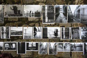 verzamel oude foto's voor een levensverhaal